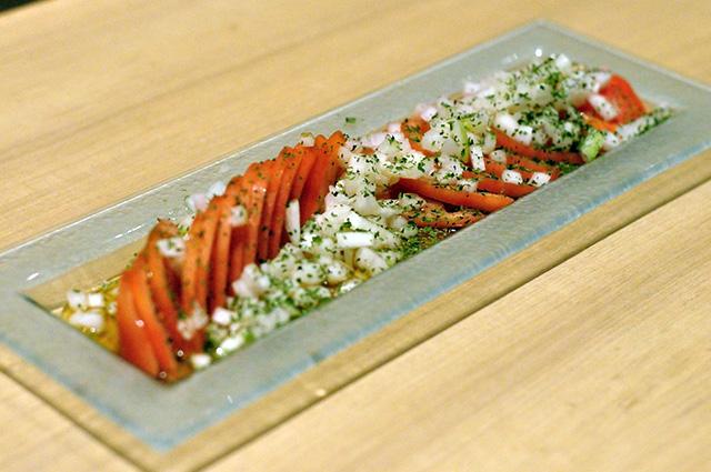 トマトスライスサラダ